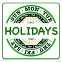 Holiday Calendar 2020 icon