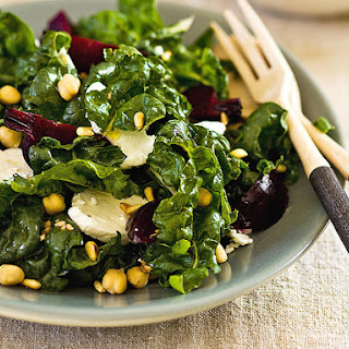 Beet, Chard and Feta Salad