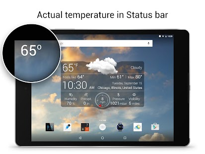 Weather Live with Widgets Free- screenshot thumbnail