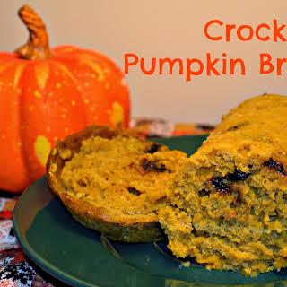 Crock Pot Pumpkin Bread.