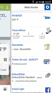 real,- leaflet, coupons - screenshot thumbnail