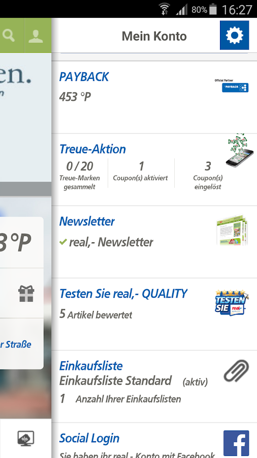 real,- leaflet, coupons - screenshot