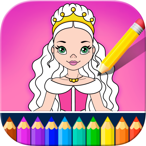 Little Princess Coloring Kids Book - Girls Games! APK Cracked Download