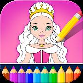 Tải Game Little Princess Coloring Kids Book