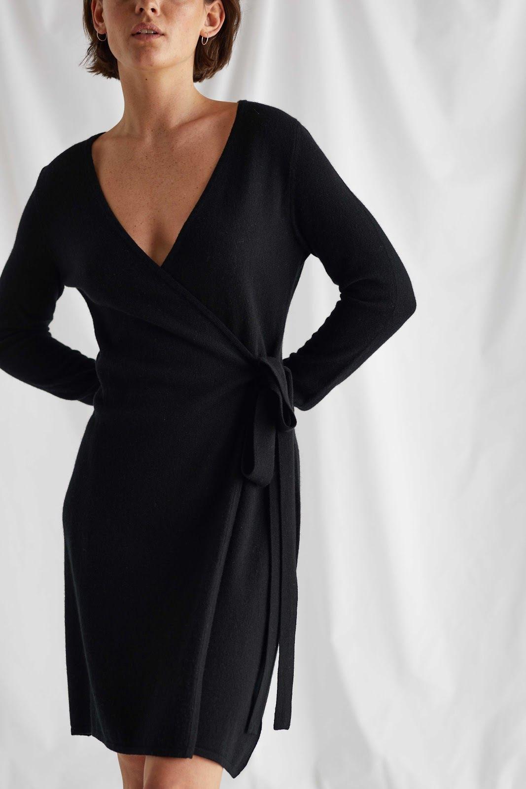 Wrap Over Dress