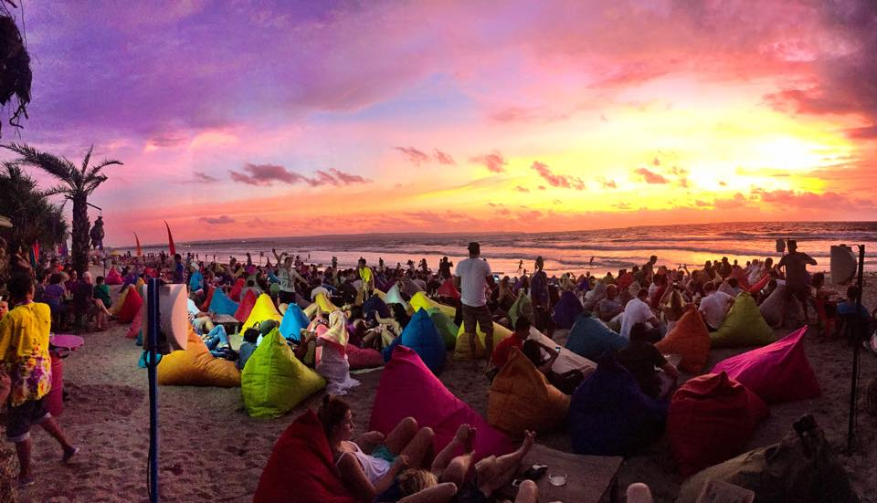 Sunset di Bali Seminyak