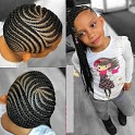 Kids Cornrow Hairstyles Collection icon