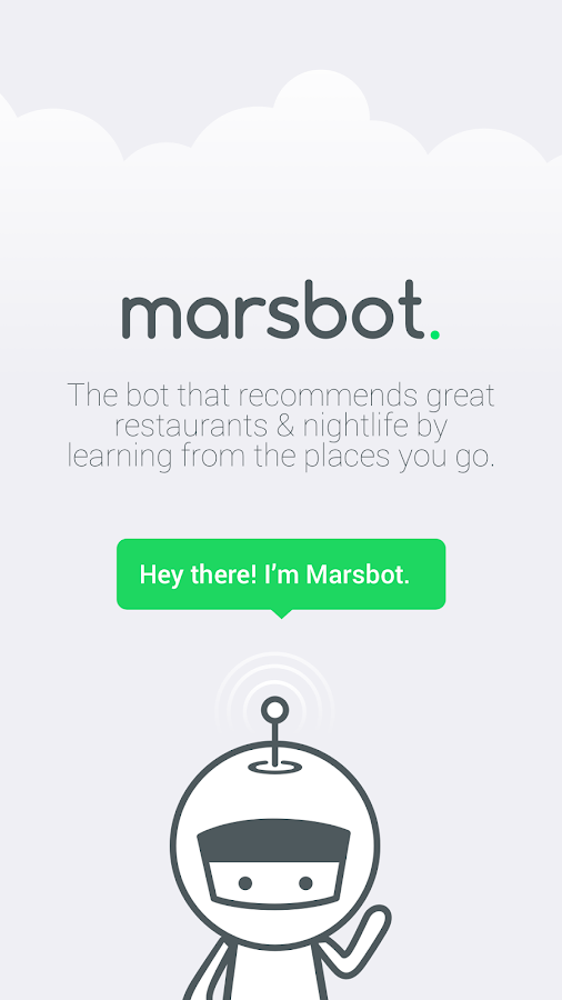 Marsbot- screenshot