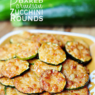 #14. Baked Parmesan Zucchini Rounds