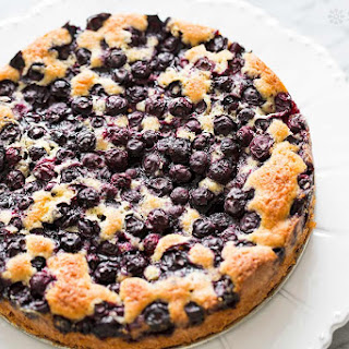 Blueberry Cake No Milk Recipes.