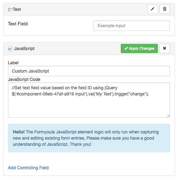 jQuery datepicker field value not showing - Stack Overflow