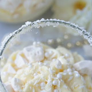 Healthy Coconut Meringue Parfait.