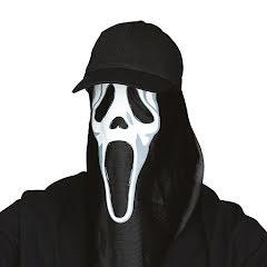 Scream keps med ansikte