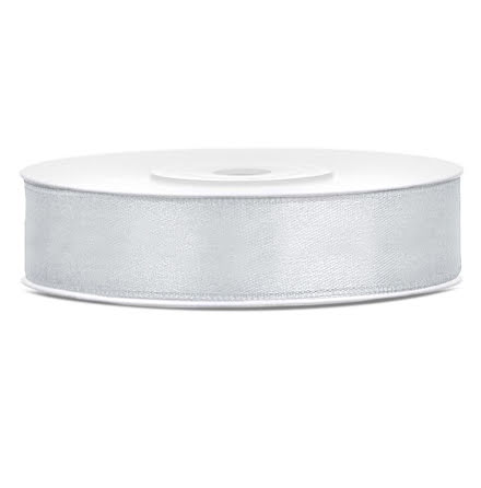 Satinband - Silver