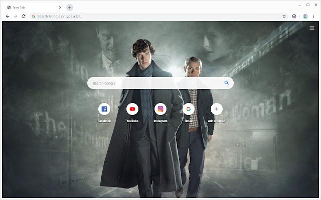 New Tab - Sherlock