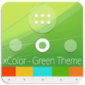 XPERIA™ Theme | Green Theme