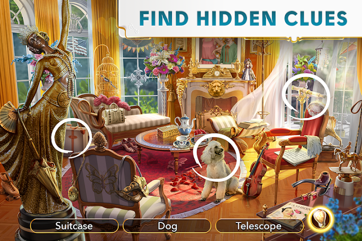 June's Journey - Hidden Object Android App Screenshot