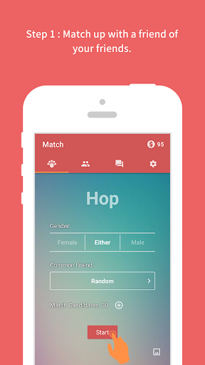 Hop: Meet Friends' Friends