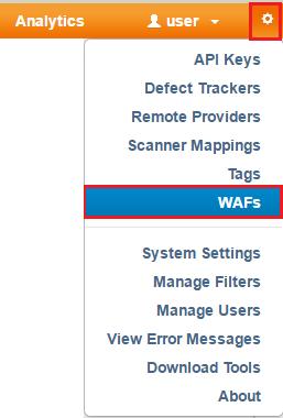 Adding a WAF to ThreadFix