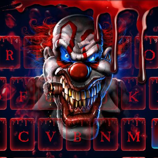Blood Clown Keyboard 2018