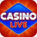 Casino Live - Slots, Bingo, Poker & Card Game icon
