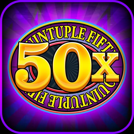 Quintuple 50x Free Slots 博奕 LOGO-玩APPs