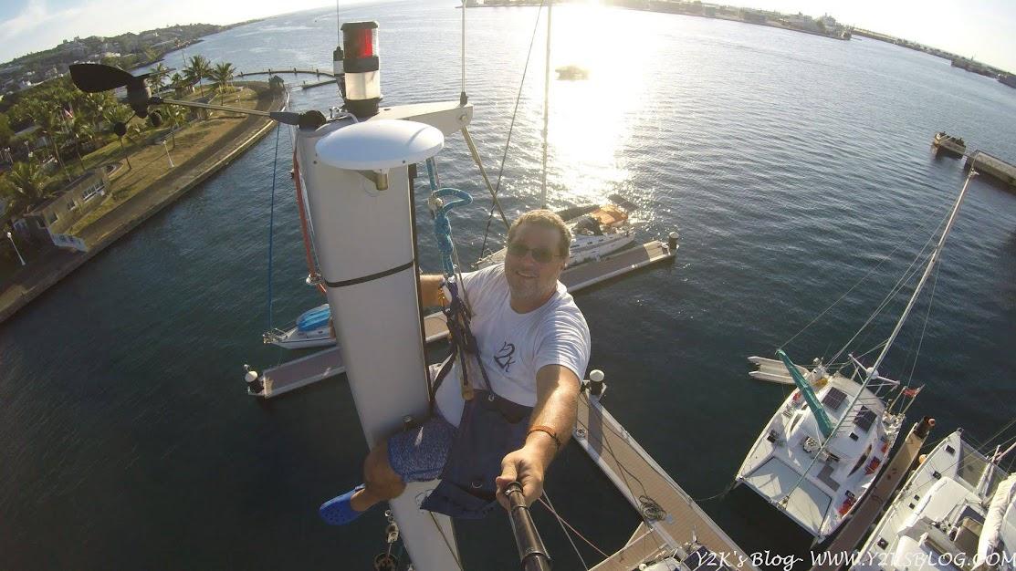 Marina di Papeete dall'albero di Y2K - Tahiti