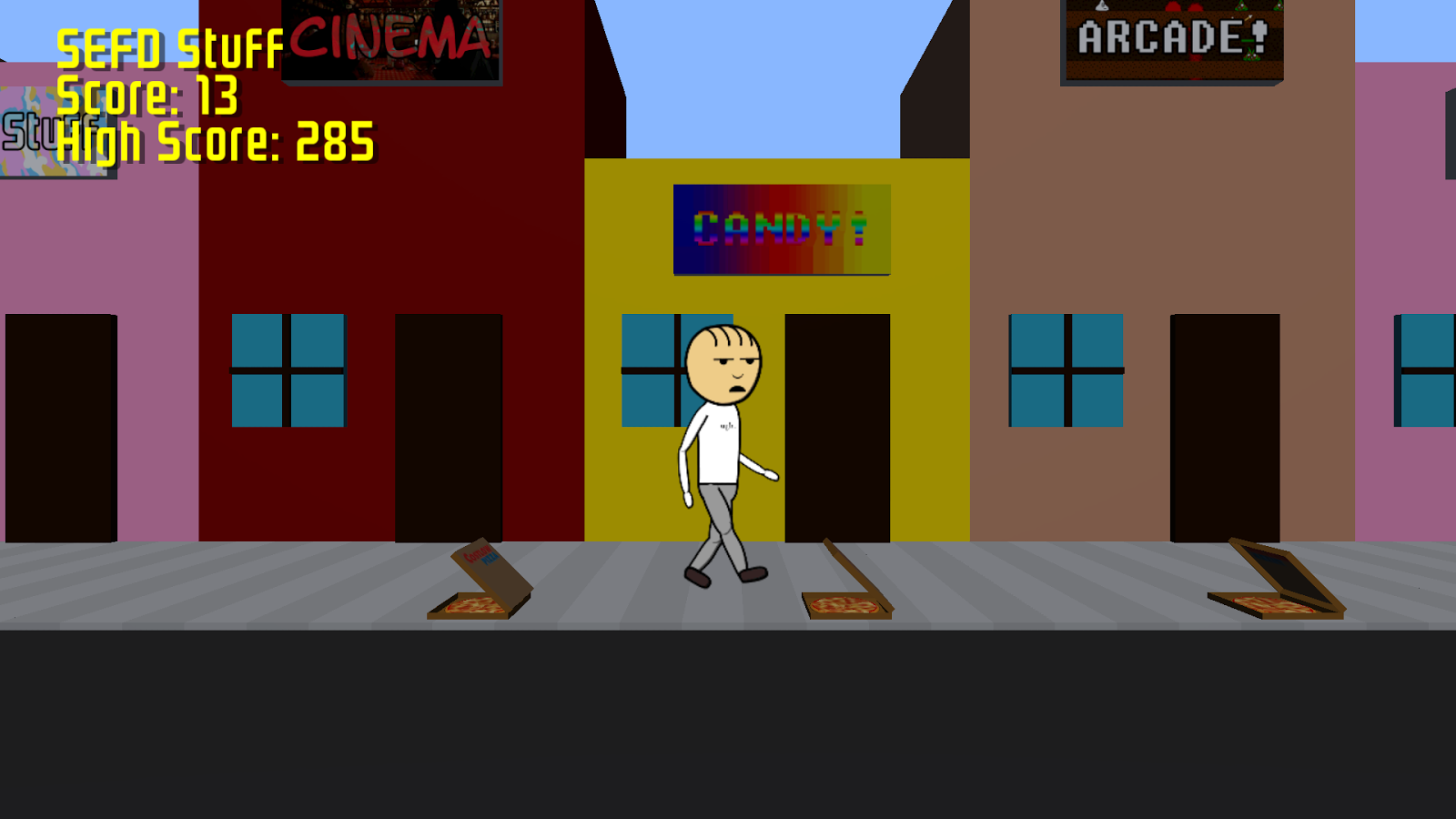 Pizza Jump- screenshot