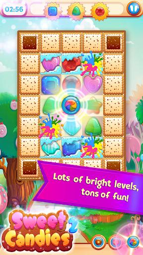 Sweet Candies 2 - Cookie Crush Candy Match 3  screenshots 4