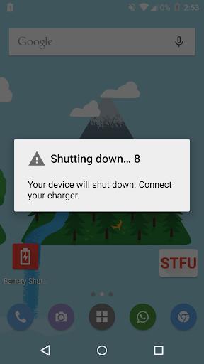 Battery Shutdown Manager