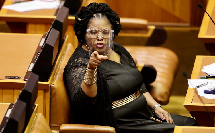 ANC chief whip Pemmy Majodina has indicated her willingness to subject herself to a 'parliamentary ethics probe'. File photo.