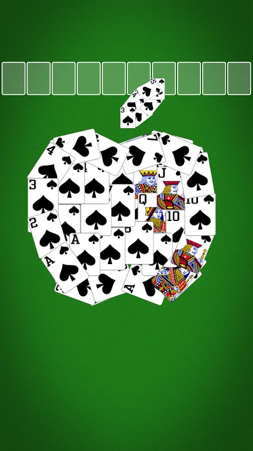 Spider Solitaire – Screenshot