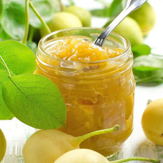 Ginger Pear Jam.