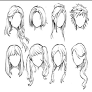 Learning to Draw Hair - náhled