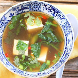 Cilantro Tofu Soup Recipes