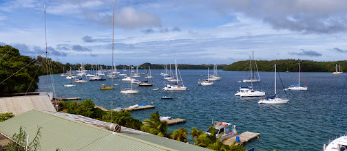 Photo: The harbour at Neiafu, the Vava'u Group