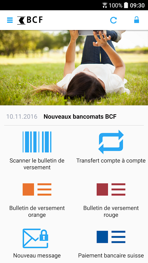 BCF Mobile Banking – Capture d'écran