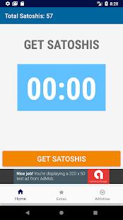 Bitcoin Satoshi Faucet Free - náhled