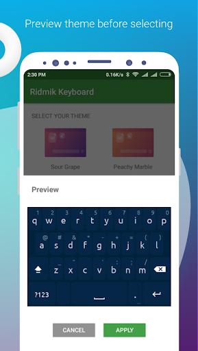 Ridmik Classic Keyboard 4.6.3 screenshots 3