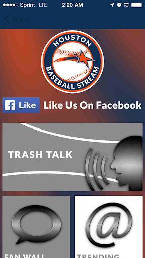 【免費運動App】Houston Baseball STREAM+-APP點子