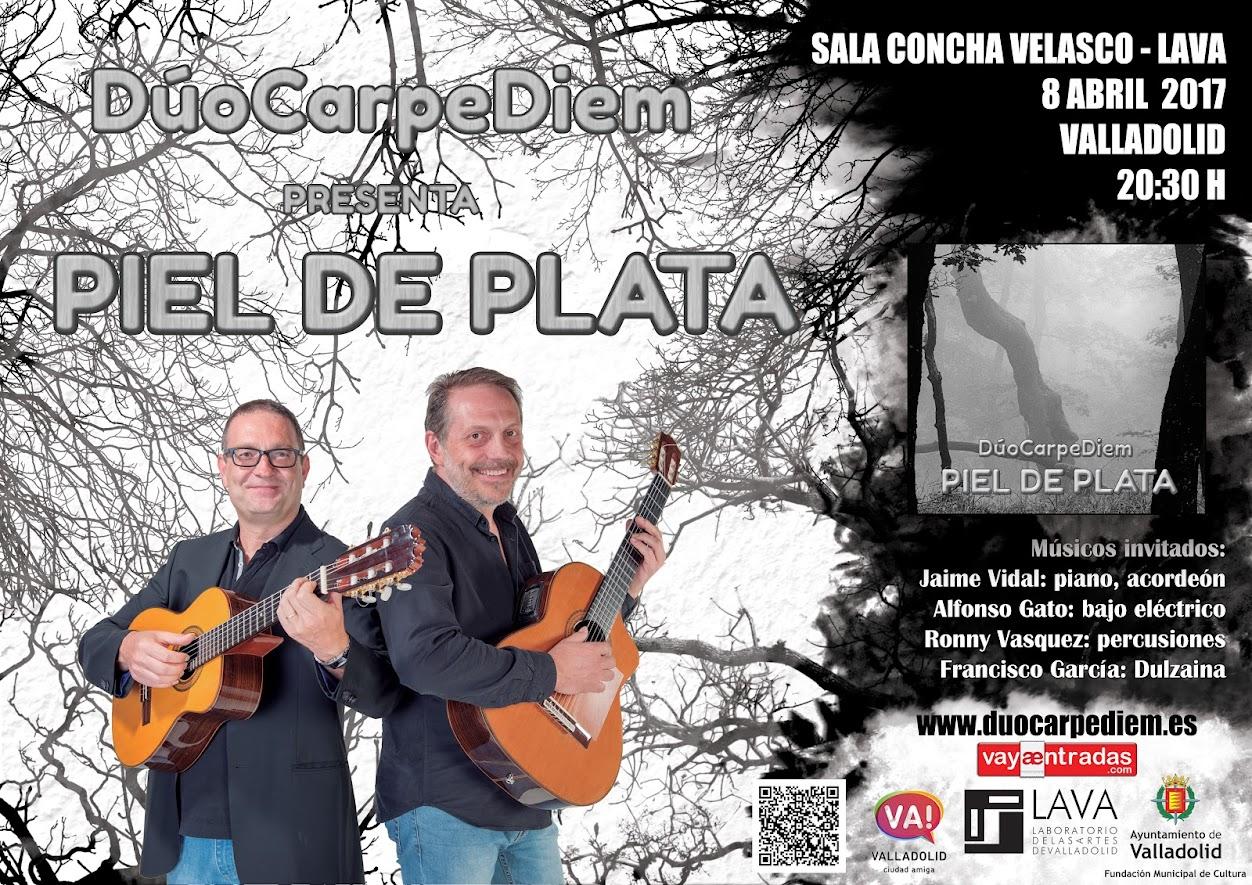 """Sala Concha Velasco (LAVA) - Dúo Carpe Diem presenta """"Piel de Plata"""""""