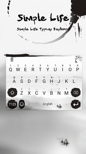 mod Simple Life Theme Keyboard 4.5 screenshots 1