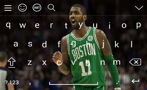 Keyboard For Kyrie Irving HD Wallpapers Screenshot 4
