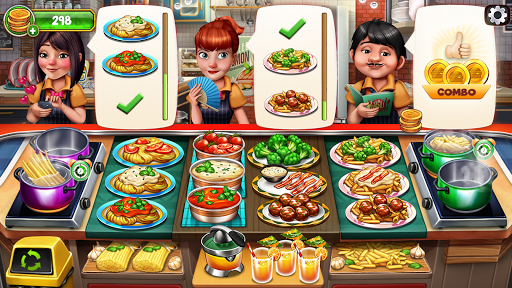 Cooking Team - Chef's Roger Restaurant Games  screenshots 1