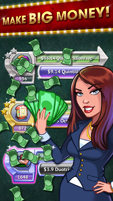 #3. Tap it Big : Casino Empire (Android)