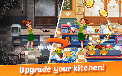 Delicious World - Romantic Cooking Game 1.8.9 screenshots 1