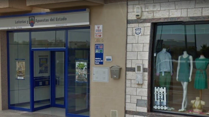 La administración de loterías número 6 está en Las Norias.