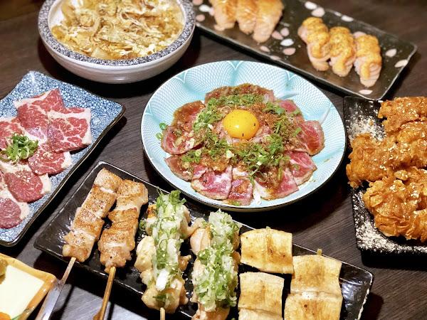 熊賀串燒居酒屋 炸雞跟各式牛肉料理超激推 兼具cp值與美味的串燒