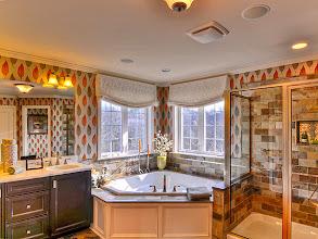 Photo: The master bath in the PRESTON model home.