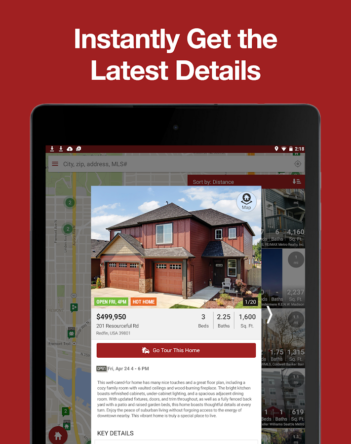 Real Estate App: Search Homes- screenshot